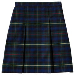 Epiphany Plaid  Kick Pleat Skirt (GRADES 6th-8th)