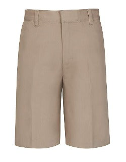 Boys Khaki Flat front Shorts Everyday & Gym Day