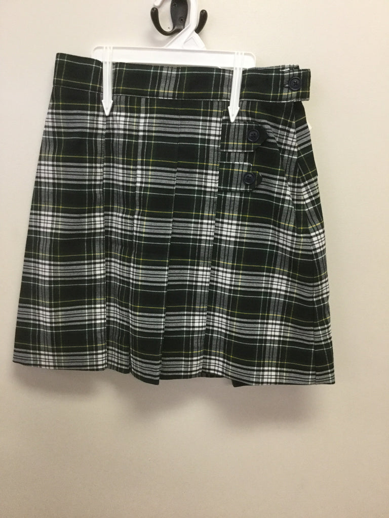 SEAS Plaid Skirt with Adjustable Waist- K-8th grade only