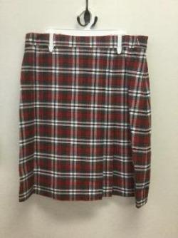 Plaid Skirt.  For GRADES 5th - 8th ONLY.
