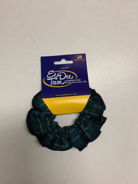 CCA Girl's Plaid Scrunchie
