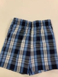 ACS Girls Plaid Pull-On Shorts (Preschool ONLY)