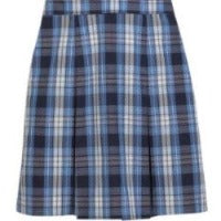 ACS Plaid Kick Pleat Skirt (6th-8th Grades ONLY)