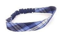Small Elastic Headband in ACS school plaid (All Grades)