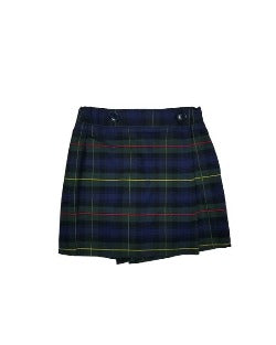 St. Patrick's Plaid Wrap Skort(Grades:1st-8th)