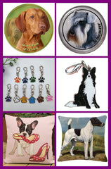 Cushion Covers, Stickers, Key Tags. Great Gifts!