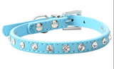 Rhinestone Collar with Lead from
