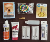 Whelping Starter Pack 3 with Medium Para-cord Puppy ID Collars
