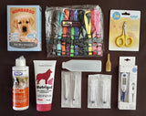 Whelping Starter Pack 5 with Set of 12 Large Clip Puppy ID Collars