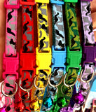 Cat or Puppy ID Collars Camouflage Set of 6 or Single Collars