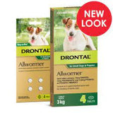 Drontal Allwormer 3kg Puppy & Small Dog - Single Tablets or Box of 4