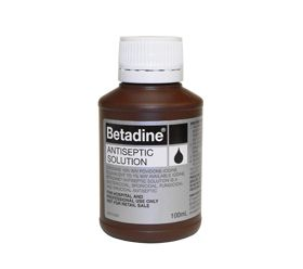 Betadine Antiseptic Solution 100ml