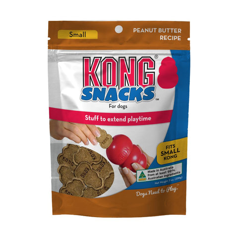 Kong Snacks Peanut Butter - Small or Medium/Large