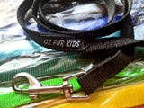 EXTRA LARGE Follow On Puppy Paws ID COLLARS & LEADS for larger pups! Sold as Sets of 12 or Singles