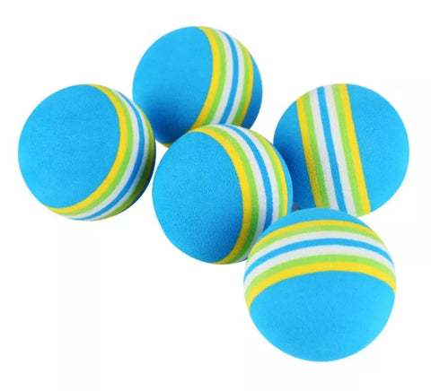 Blue Rainbow Cat Ball 4.2 cm