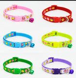 Cute Mushroom Print Puppy Collars Sets of 6 or Single Collars From