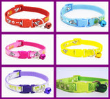 Puppy ID Collars Puppy,Bone,Paw Print Sets of 6 or Single Collars From