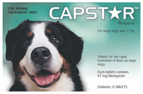 Capstar Flea Tablets for Large Dogs 6 Pack
