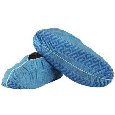 Shoe Covers Non Woven with Non Slip Sole (5 Pairs)