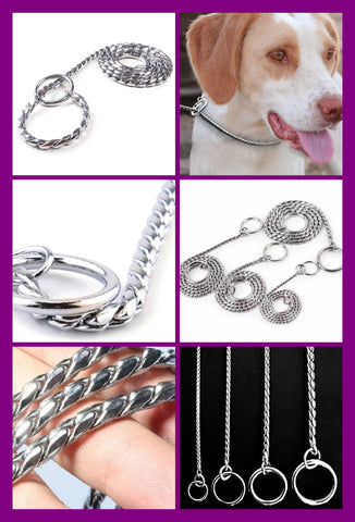 Chrome Show Snake Chains VARIOUS SIZES from