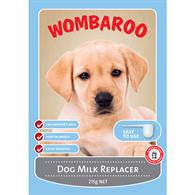 Wombaroo Dog Milk Replacer 215gm and 1kg from