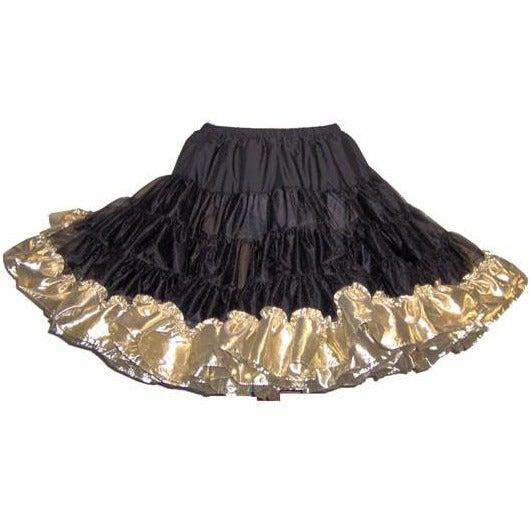 Combo Metallic Square Dance Petticoat (Short 18