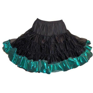 "Combo Metallic Square Dance Petticoat (Short 18"" to 21""), Petticoat - Square Up Fashions"