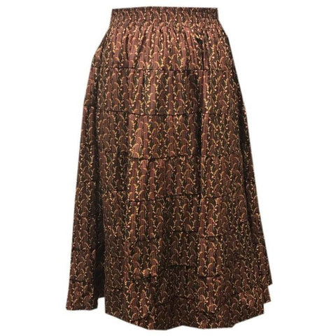 Style 1609 Prairie  Skirt - Square Up Fashions