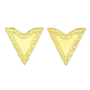 Gold Collar Tips, Accessories - Square Up Fashions