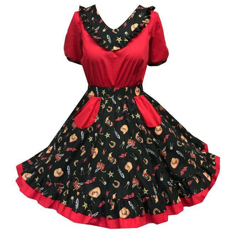 Style 2035 Square Dance Set - Square Up Fashions