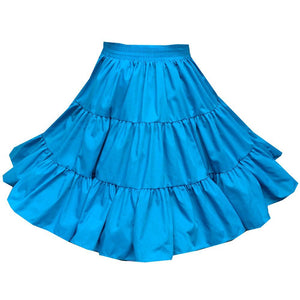 Basic 3 Tier Square Dance Skirt, Skirt - Square Up Fashions