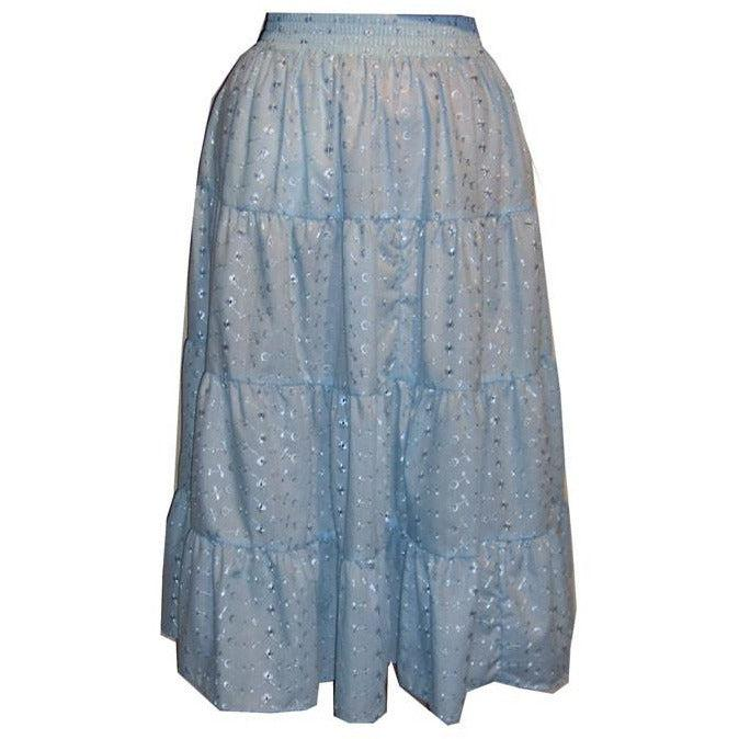 4 Tier Eyelet Prairie Skirt, Prairie - Square Up Fashions