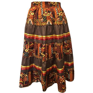 Southwest Navajo Prairie Skirt, Prairie - Square Up Fashions