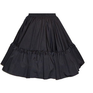 Lace Circle Square Dance Skirt, Skirt - Square Up Fashions