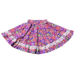Assorted Print Childrens Skirt, Childrens Clothing - Square Up Fashions