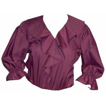 Shawl Collar Blouse, Blouse - Square Up Fashions