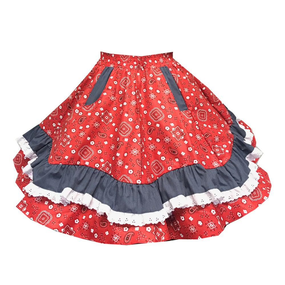 Country Square Dance Skirt, Skirt - Square Up Fashions