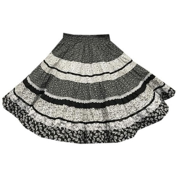 Calico Square Dance Skirt, Skirt - Square Up Fashions