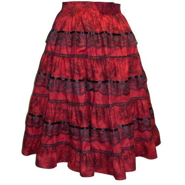Tone on Tone Prairie Skirt, Prairie - Square Up Fashions