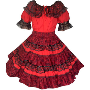 Tone on Tone Square Dance Outfit