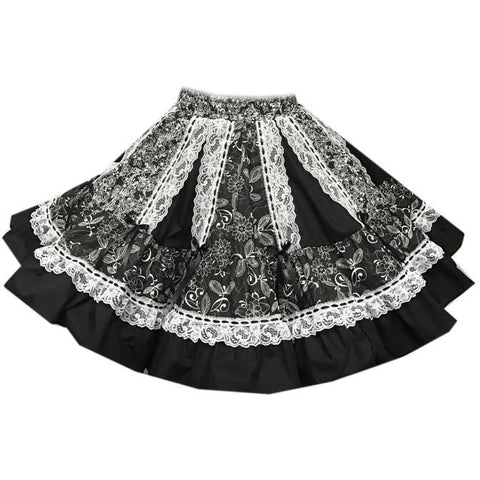Style 7680 Square Dance Skirt
