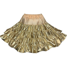 Shiny Metallic Petticoat, Petticoat - Square Up Fashions
