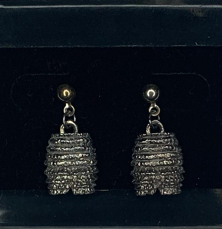 Silver Dangling Pettipants Square Dance Earrings, Jewelry - Square Up Fashions