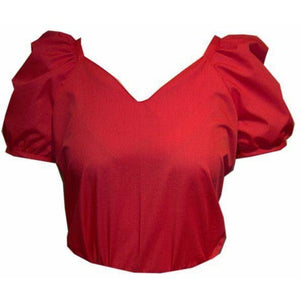 Sweetheart Neck Blouse, Blouse - Square Up Fashions