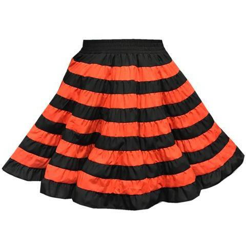 Halloween Square Dance Skirt, Skirt - Square Up Fashions