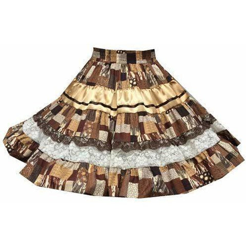 Style 9016 Square Dance Skirt