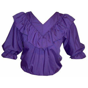 V Neck 3/4 Sleeve Blouse, Blouse - Square Up Fashions