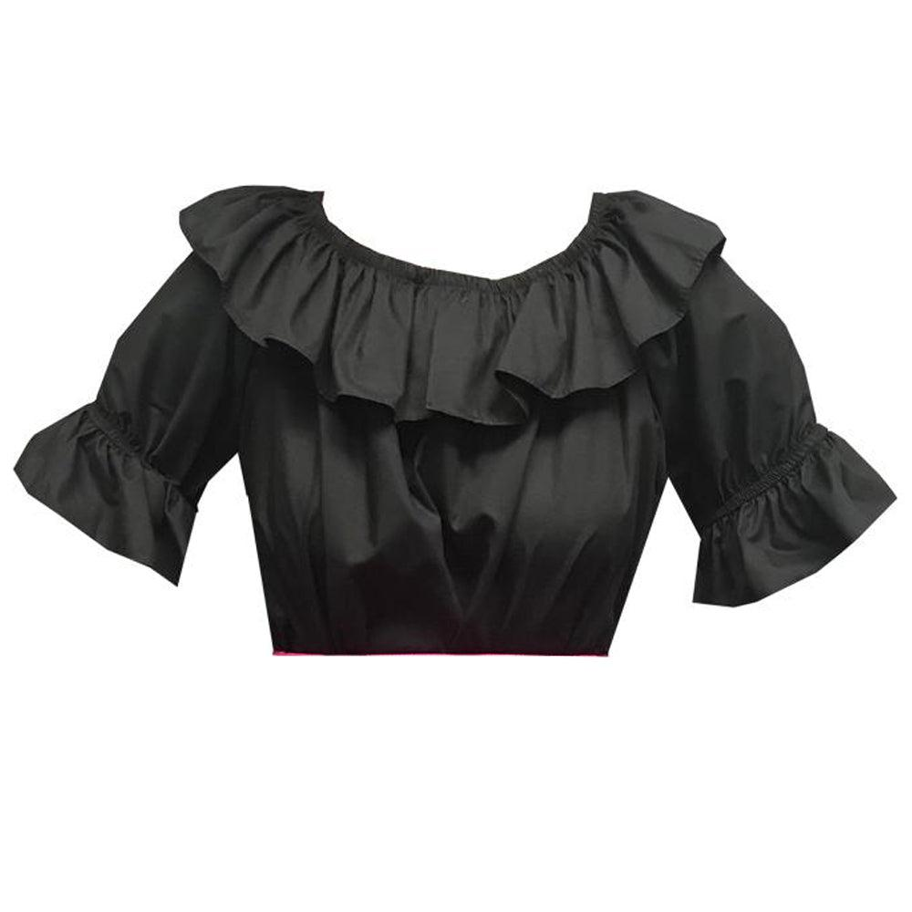 Scoop Neck Blouse, Blouse - Square Up Fashions