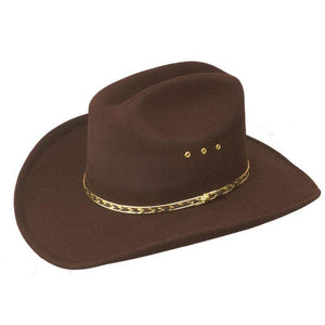Faux Felt Cowboy Hat, Hats - Square Up Fashions