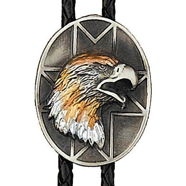 Tri-color Eagle Bolo, Bolo Ties - Square Up Fashions